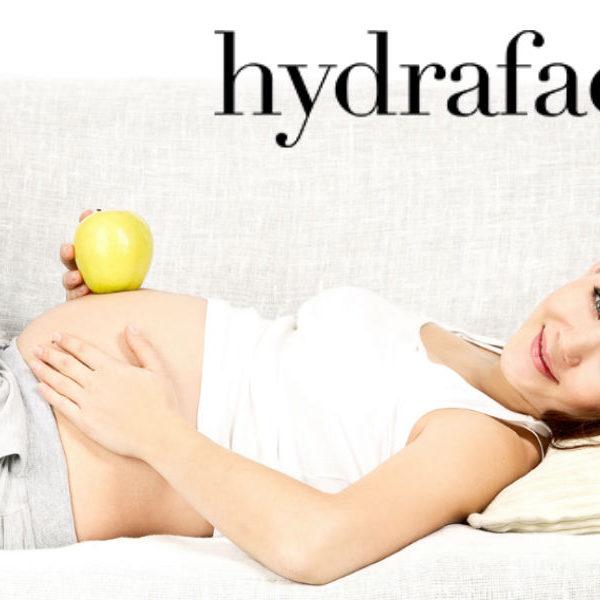 Уход за лицом во время беременности: Hydrafacial